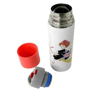 "KIKI Watercolor Stainless Bottle 360ML""Kiki Delivery Service"", Skater Bento"