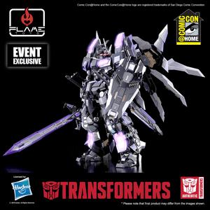 "Star Saber Alternative ""Transformers"", Flame Toys Kuro Kara Kuri"
