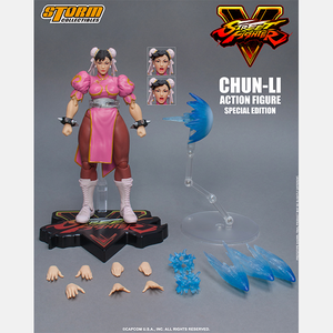 "Chun-Li (Special Edition) ""Street Fighter V"", Storm Collectibles 1/12 Action Figure"