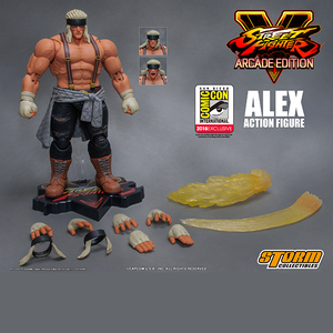 "Alex (Special Edition) *SDCC 2018* ""Street Fighter V"", Storm Collectibles 1/12 Action Figure"