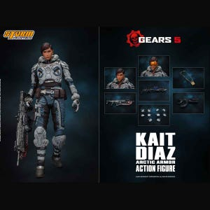 "Kait Diaz ""Gears of War"", Storm Collectibles 1/12 Action Figure"