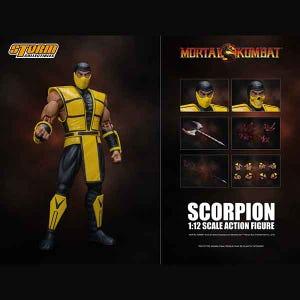 "Scorpion ""Mortal Kombat 3"", Storm Collectibles 1/12 Action Figure"