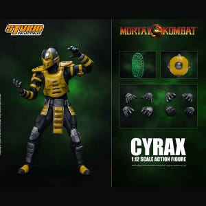 "Cyrax ""Mortal Kombat"", Storm Collectibles 1:12 Action Figure"