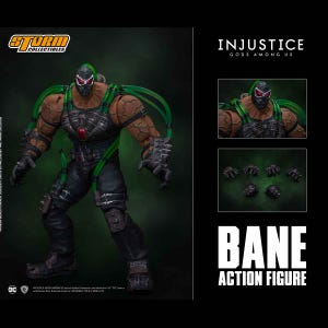 "Bane ""Injustice: Gods Among Us"", Storm Collectibles 1/12 Action Figure"