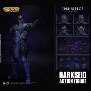 "Darkseid ""Injustice: Gods Among Us"", Storm Collectibles 1/12 Action Figure"
