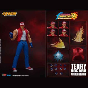 "Terry Bogard ""King of Fighters '98"", Storm Collectibles 1/12 Action Figure"