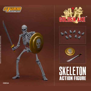 "Skeleton Soldier 2 Pack ""Golden Axe"", Storm Collectibles 1/12 Action Figure"