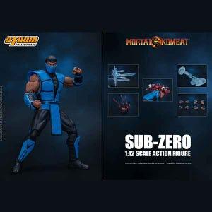 "Sub-Zero ""Mortal Kombat 3"", Storm Collectibles 1/12 Action Figure"