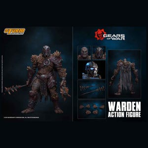 "Warden ""Gears of War"", Storm Collectibles 1/12 Action Figure"