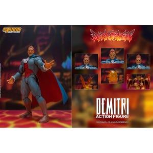 "Demitri Maximoff ""Darkstalkers"", Storm Collectibles 1/12 Scale Figure"
