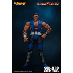 "Sub-Zero (Unmasked) ""Mortal Kombat 3"", Storm Collectibles 1/12 Scale Figure"