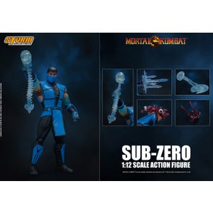 "Sub-Zero *Video Game Event Exclusive* ""Mortal Kombat 3"", Storm Collectibles 1/12 Action Figure"