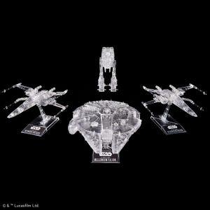 "Star Wars: The Last Jedi Clear Vehicle Set ""Star Wars"", Bandai Spirits VM"