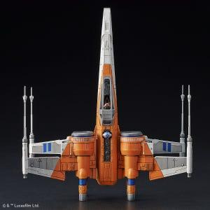 "Poe's X-Wing Fighter (Rise of Skywalker Ver.) ""Star Wars"", Bandai Spirits 1/72 Vehicle Model"