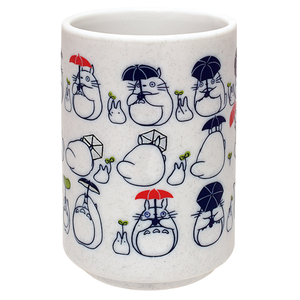 "Totoro Dondoko Dance Japanese Tea Cup ""My Neighbor Totoro"", Benelic"
