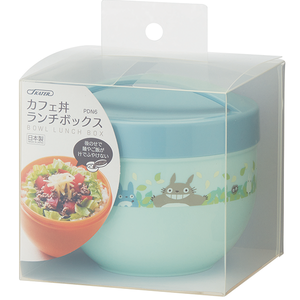 "Totoro Leak-Proof Lunch Bowl With Divider ""My Neighbor Totoro"", Skater Bento"