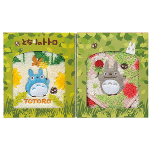 "Totoro Mini Towel Gift Set in Folding Box (2 Pack) ""My Neighbor Totoro"", Marushin Towels"