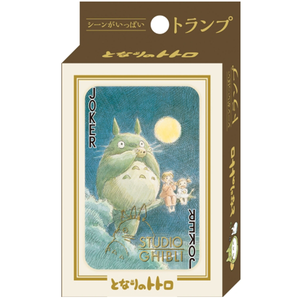 "Totoro Movie Scenes Playing Cards ""My Neighbor Totoro"", Ensky Playing Cards"