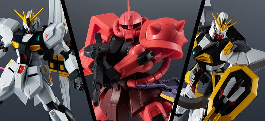 Tamashii Nations Announces Gundam Universe Wave 5