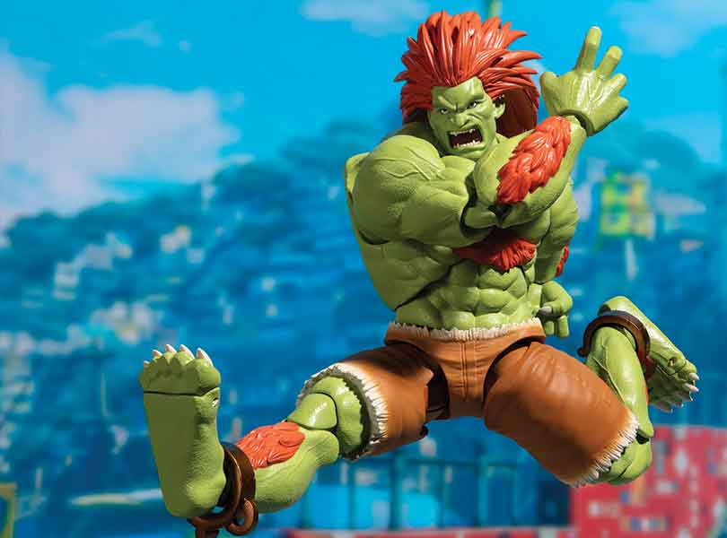 Blanka from Street Fighter II Joins S.H.Figuarts
