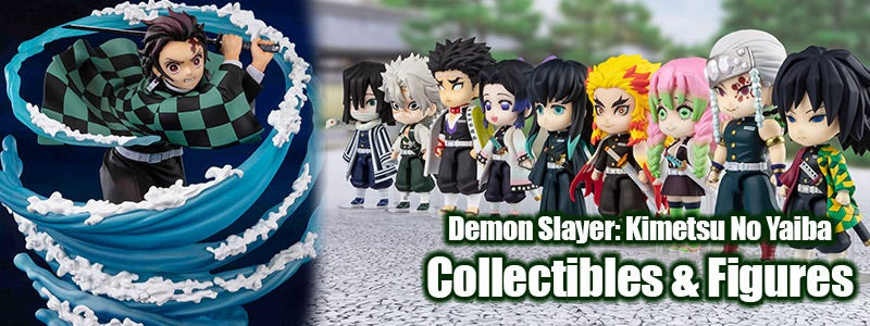 Demon Slayer: Kimetsu No Yaiba Collectibles & Figures from Bluefin