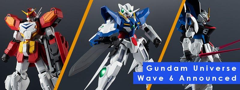 Gundam Universe Wave 6 Announced