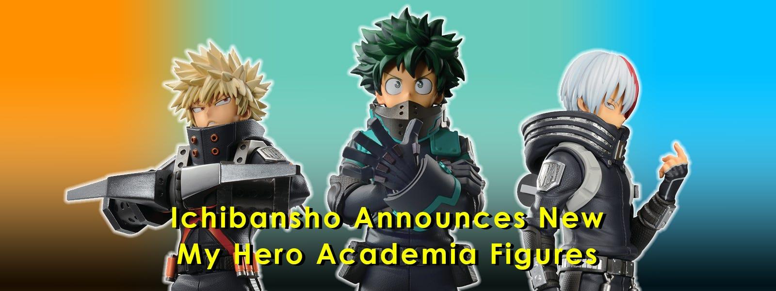 Ichibansho Announces New My Hero Academia Figures
