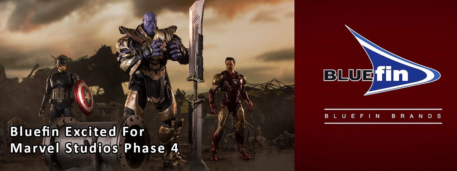 Bluefin Excited For Marvel Studios Phase 4