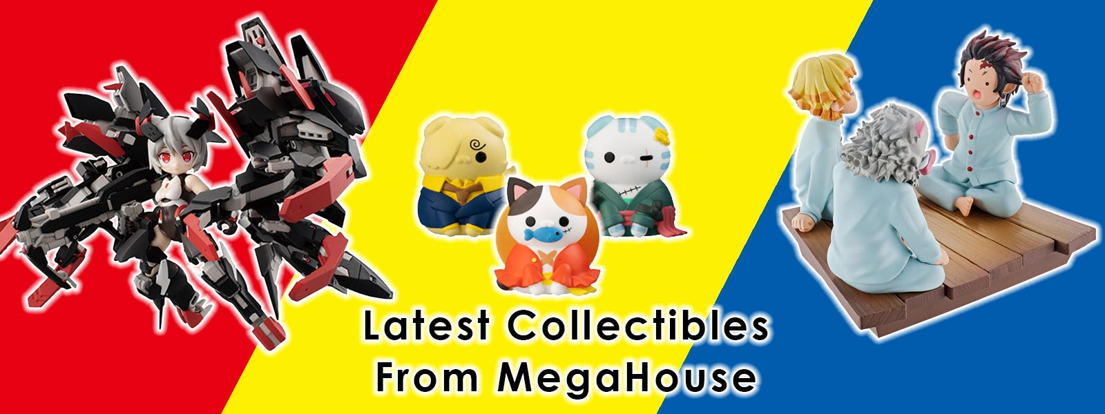 Latest Collectibles From MegaHouse