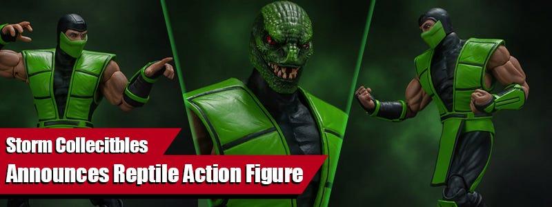 Storm Collectibles Announces Reptile Action Figure