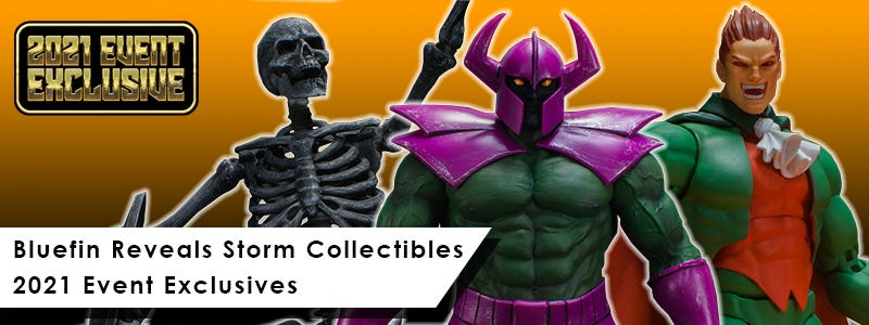 BLUEFIN REVEALS STORM COLLECTIBLES 2021 EVENT EXCLUSIVES LAUNCHING AT COMIC-CON@HOME