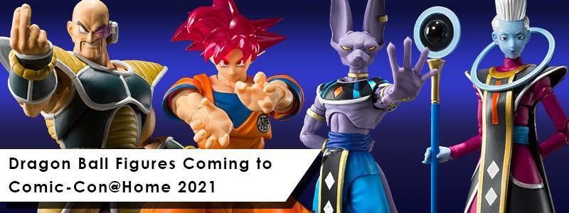 Dragon Ball Figures Coming to Comic-Con@Home 2021