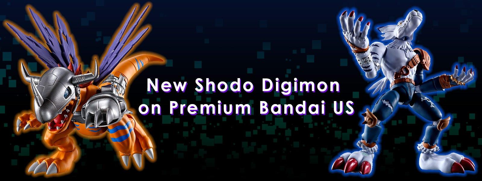 New Shodo Digimon on Premium Bandai US