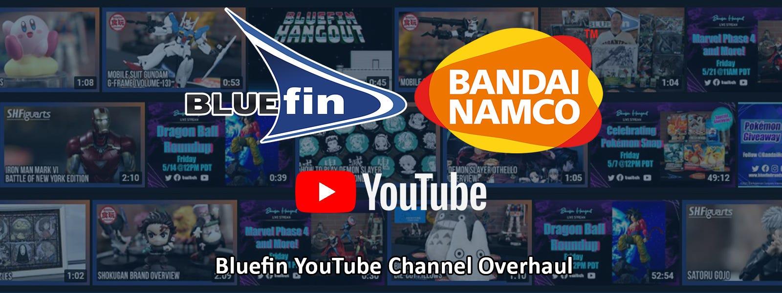 Bluefin YouTube Channel Overhaul
