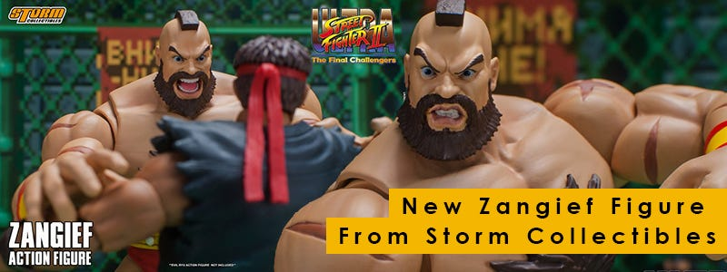 New Zangief Figure From Storm Collectibles