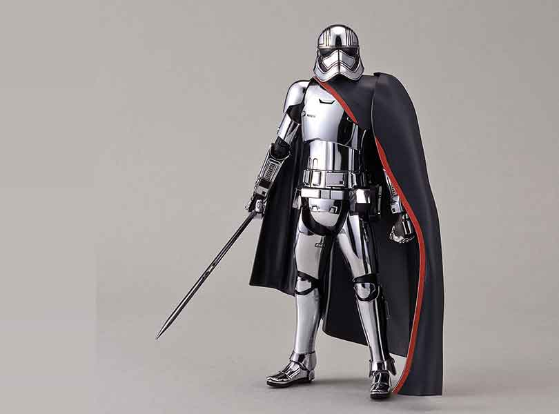 Captain Phasma joins the Bandai Star Wars Character Line