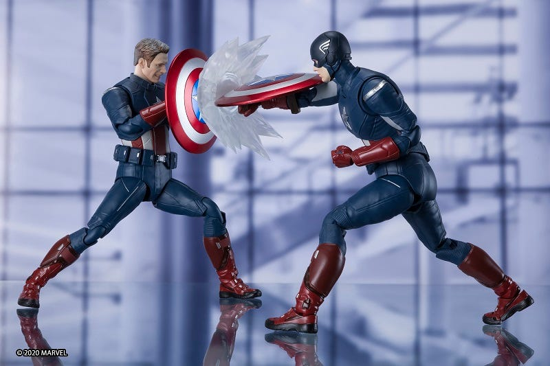 New S.H. Figuarts Captain America CAP vs CAP Arrives in October