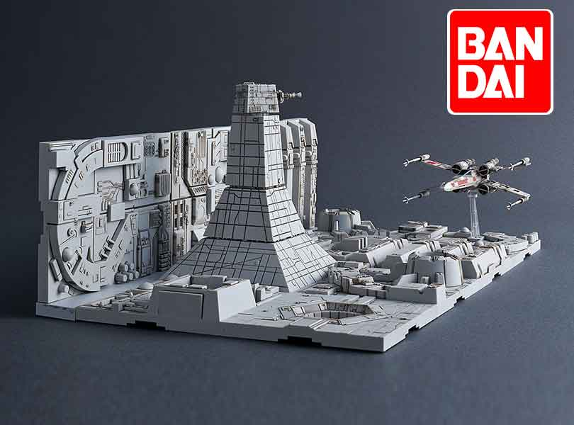 "Bandai Hobby Star Wars 1/144 Plastic Model Death Star Attack Set From ""Star Wars"""