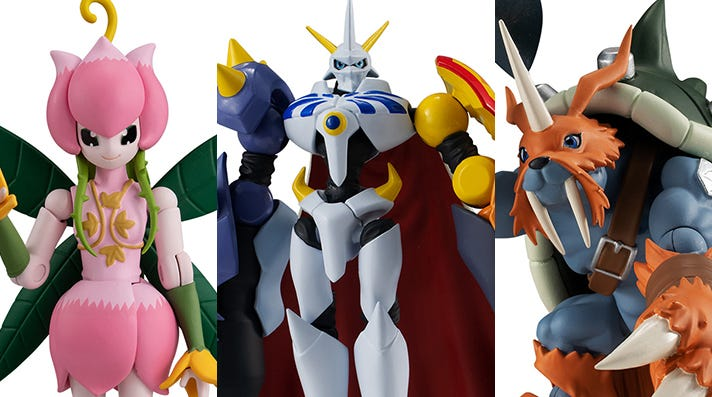 Premium Bandai USA Releases Shodo Digimon 3