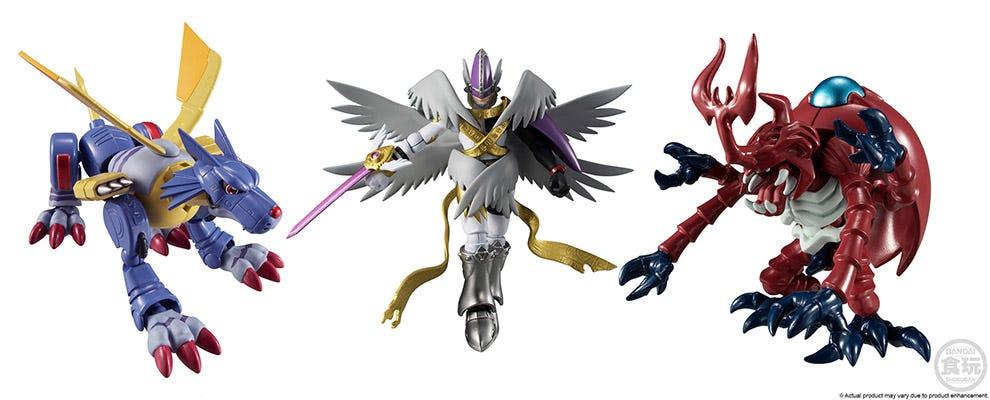 New Shodo Digimon 2 on Premium Bandai USA