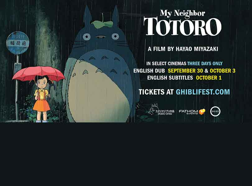 30th Anniversary of My Neighbor Totoro