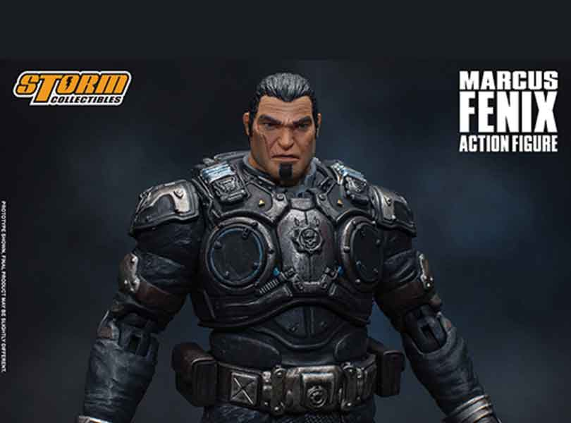 Gears of War comes to Storm Collectibles!