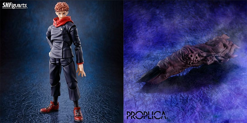 Jujutsu Kaisen S.H.Figuarts and PROPLICA Coming to US