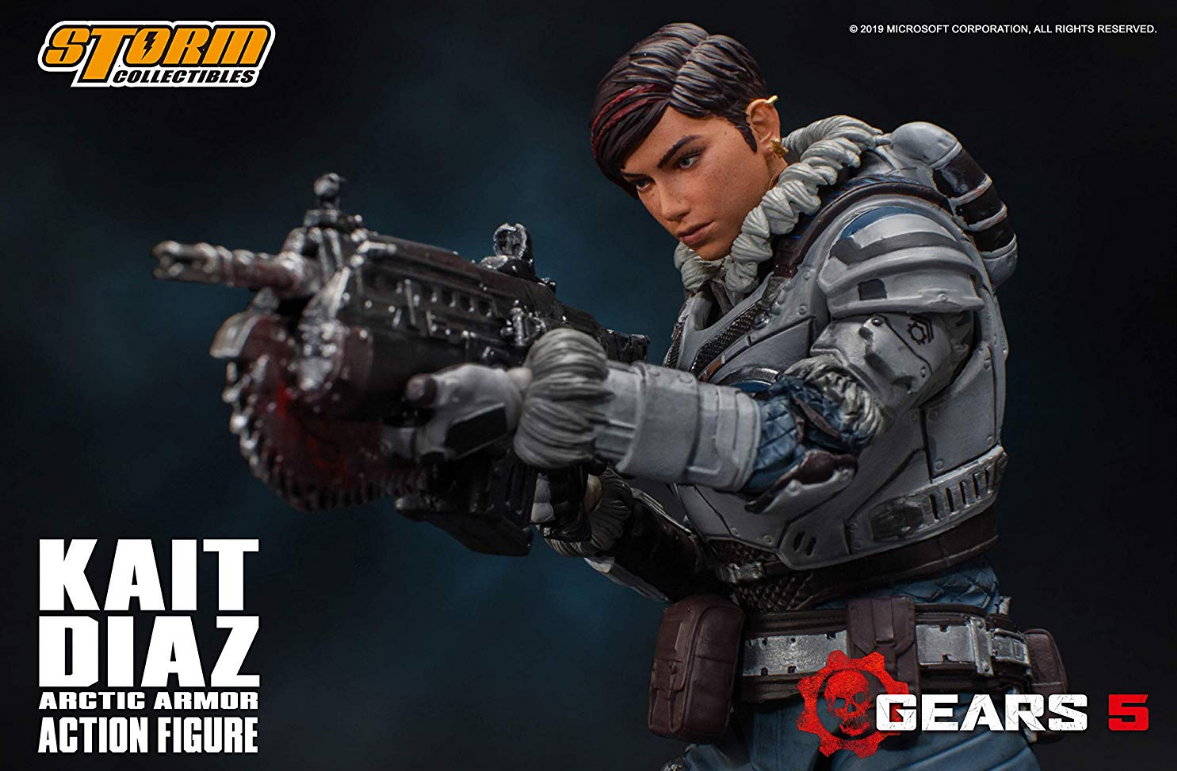 Storm Collectibles Capture Amazing Likeness with Gears 5 Figures