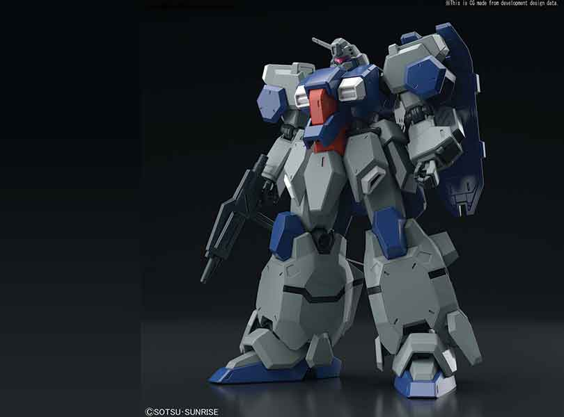#222 Gustav Karl from Gundam Unicorn Available as Plastic Model Kit