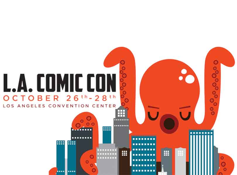 Visit us at LA Comic Con