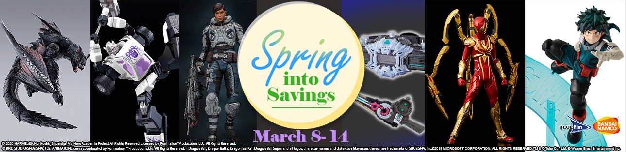 Spring into Savings Sale Event