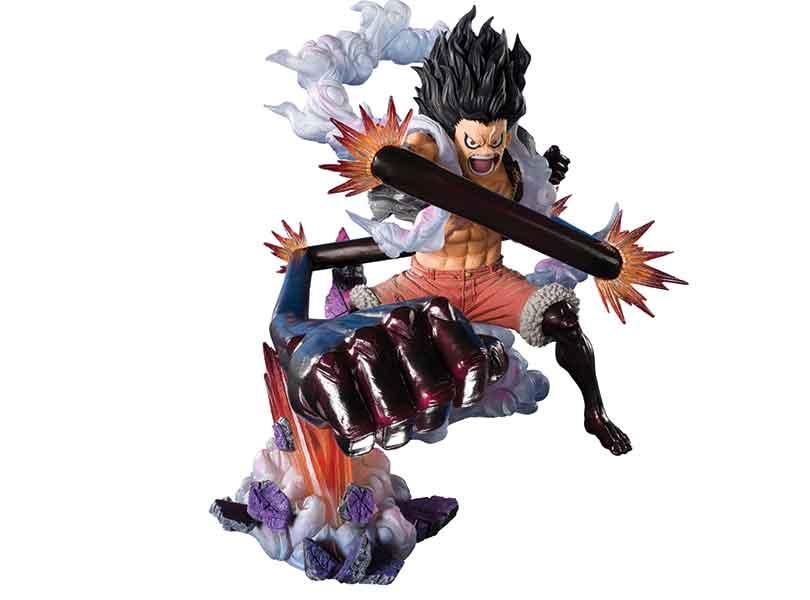 Monkey D Luffy Gear 4 Snakeman King Cobra From One Piece Joins Bandai Figuartszero