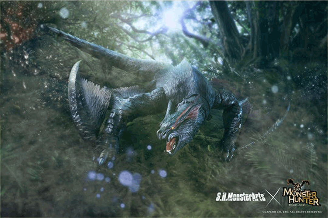 Monster Hunter Coming to S.H. MonsterArts