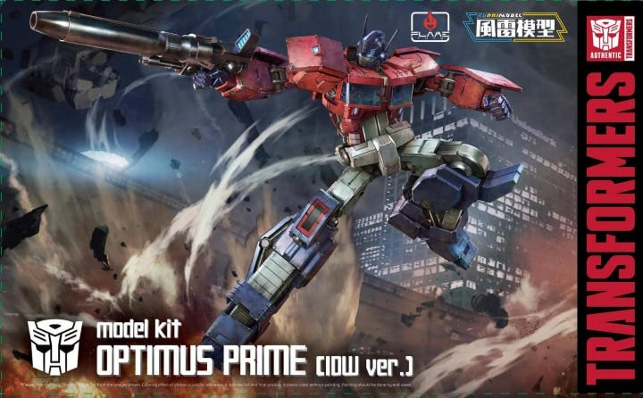 Top 5 Versions of Optimus Prime